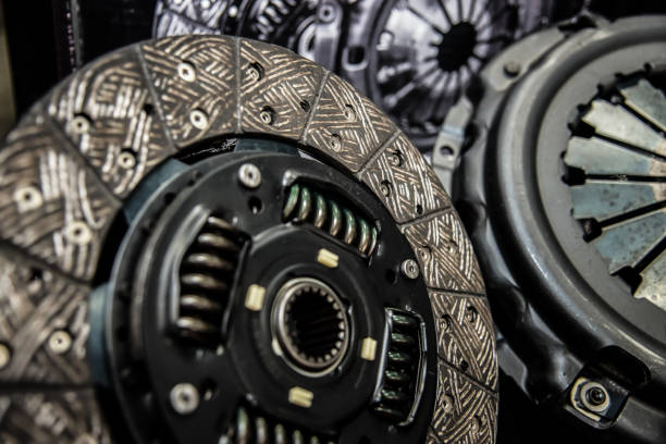 Plate clutch car.Transmission system Plate clutch car.Transmission system vehicle clutch stock pictures, royalty-free photos & images