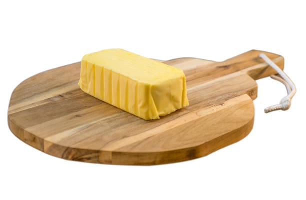 plate of butter wrapping ready to eat - desperdício alimentar imagens e fotografias de stock