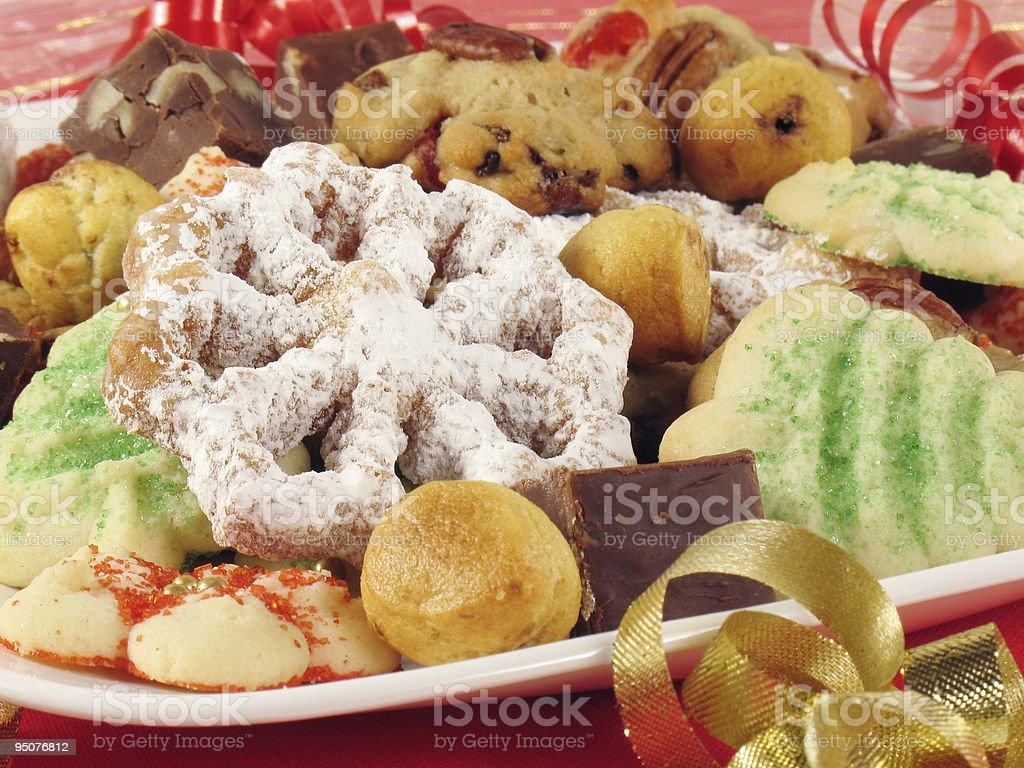 Plate Of Christmas Cookies Stock Photo More Pictures Of Award