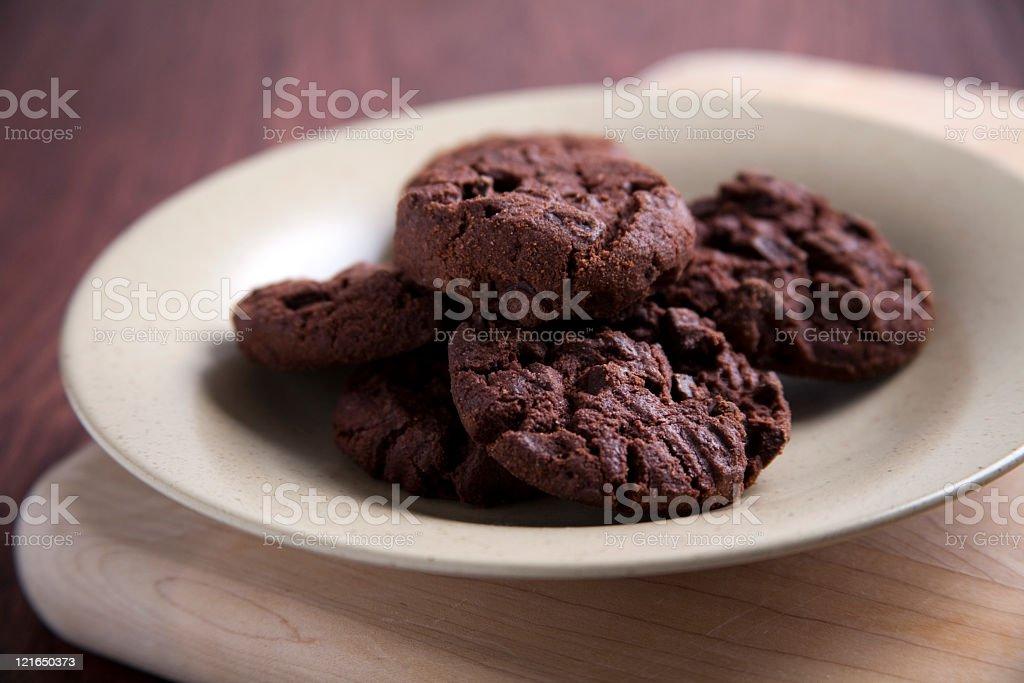 - Schokolade cookies – Foto