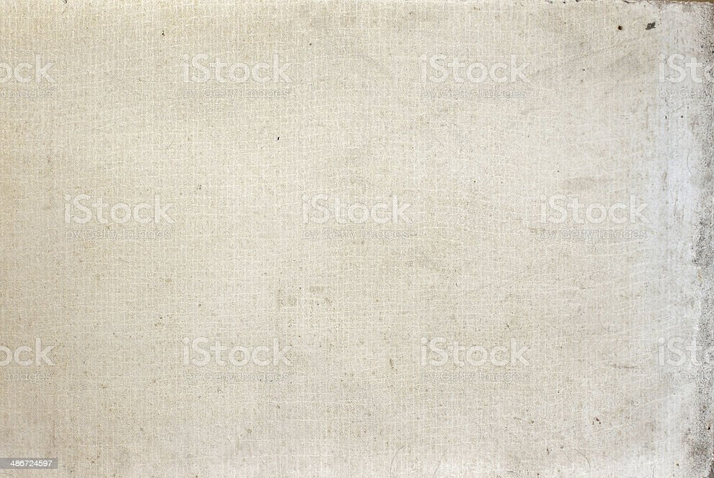 Plate of glass fibers and gypsum stock photo