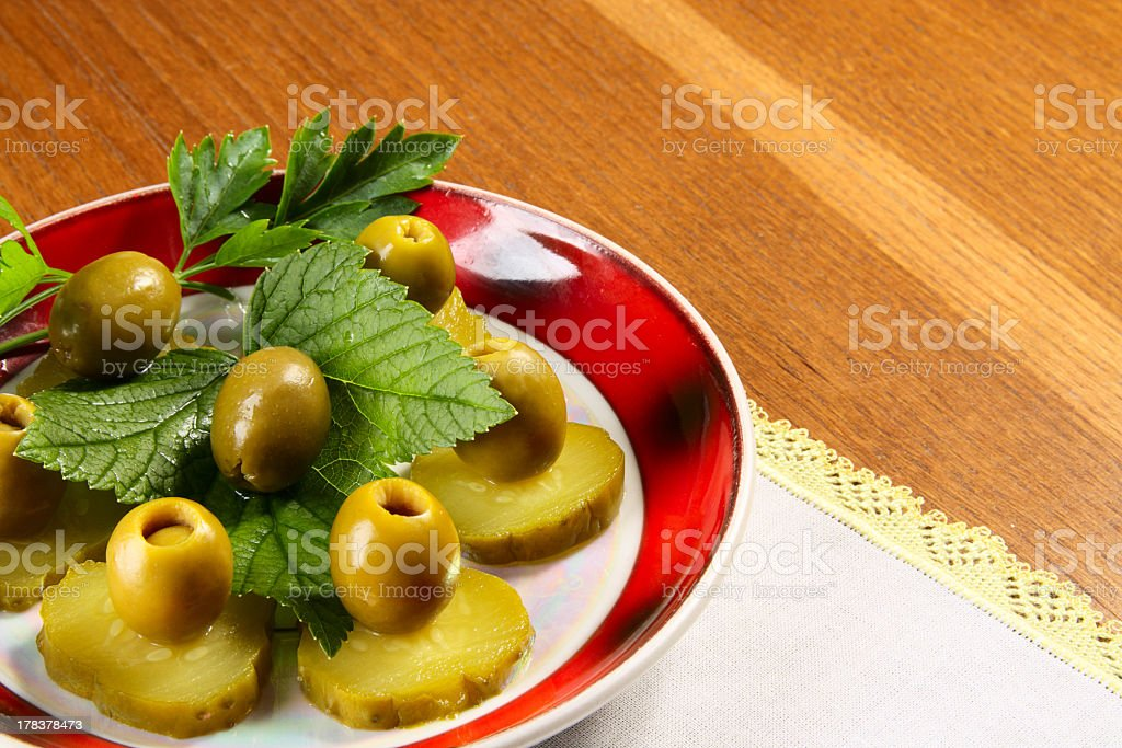 Plate royalty-free stock photo