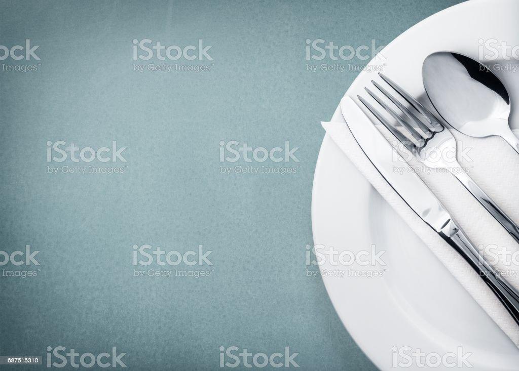 Plate. stock photo