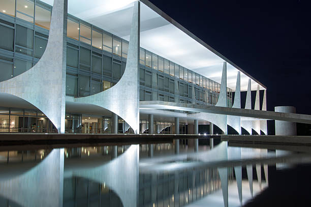 planalto palace - mac stock-fotos und bilder