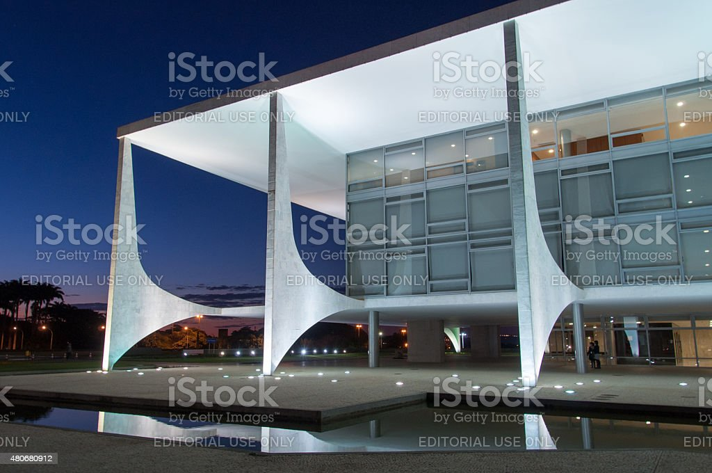 Planalto Palace stock photo