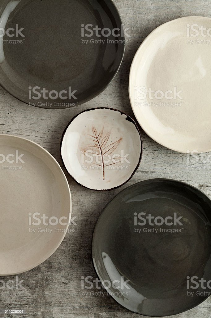 Plate,Ceramics stock photo