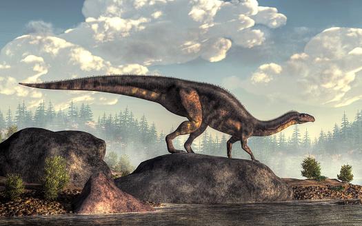 Plateosaurus Stock Photo - Download Image Now