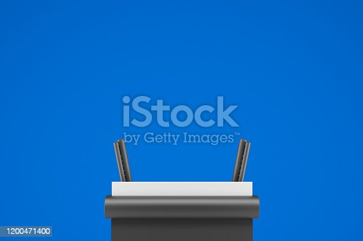 istock platform for politics speech 1200471400