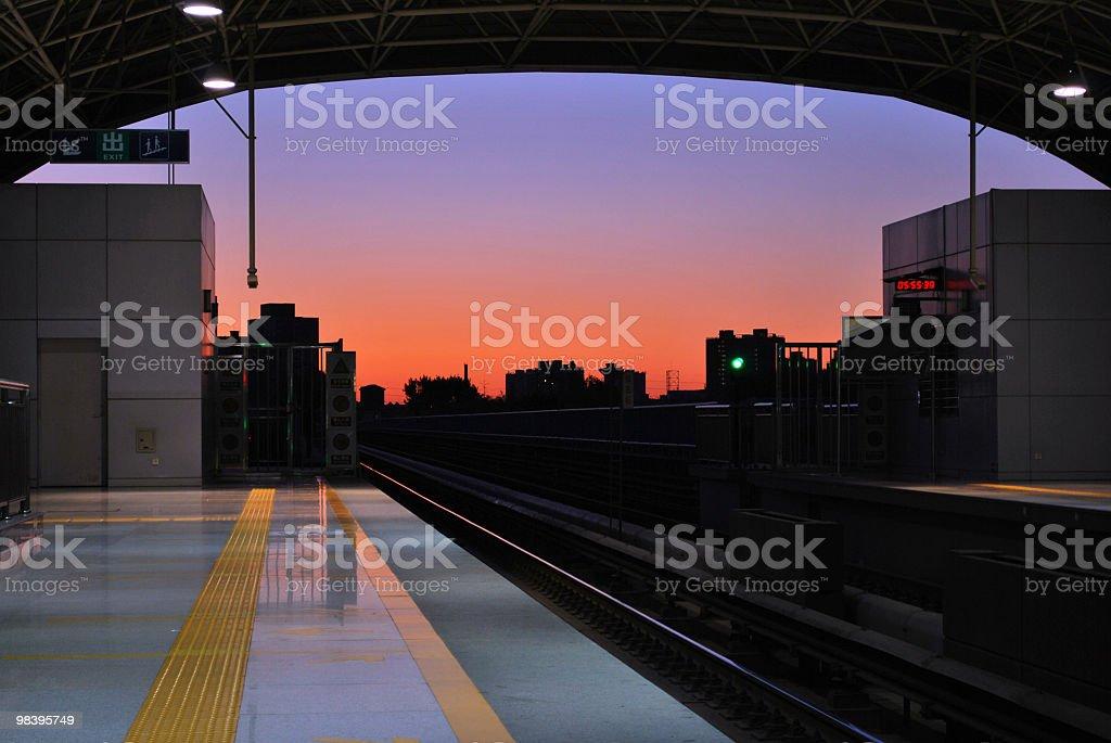 Platform royalty-free stock photo