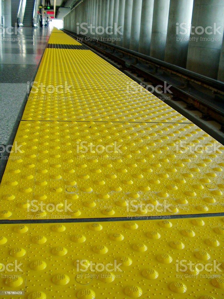 Platform's Edge stock photo