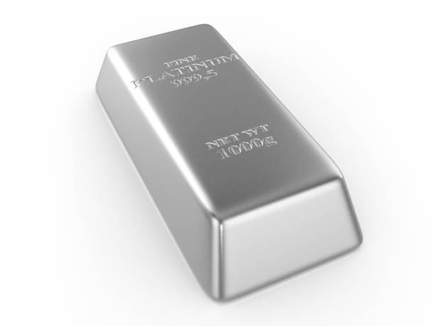 platin-bar - platinum stock-fotos und bilder