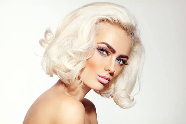 Platinum blonde hair pictures images and stock photos istock platinum blonde stock photo urmus Image collections