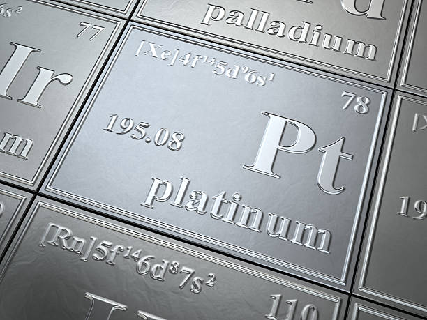 platinum stock photo
