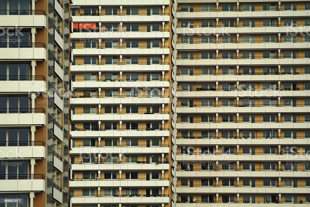 Plattenbauten - Apartment Buildings royalty-free stock photo
