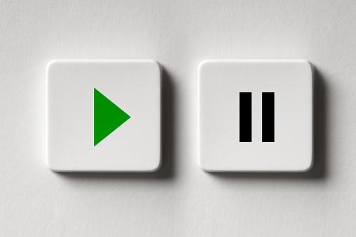 start, pause, key, button,Push Button, Stop Concepts