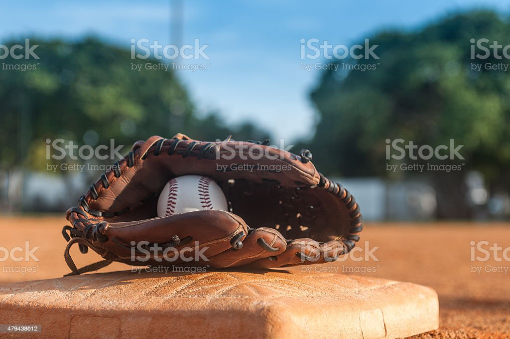 Play ball stock photo