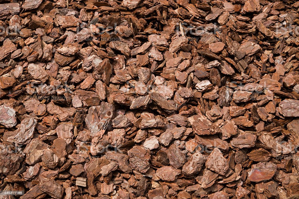 Play Bark Wood Chip for Playgrounds stock photo