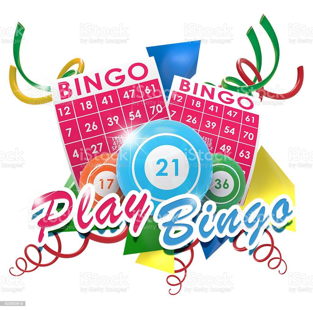 play bingo stock photo