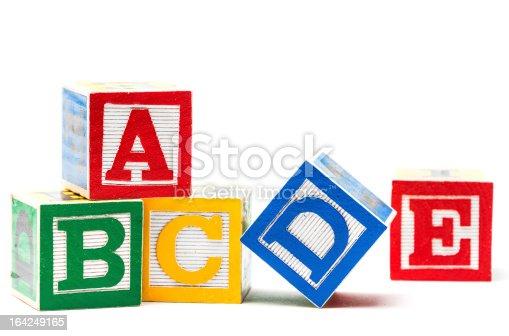 istock Play blocks 164249165
