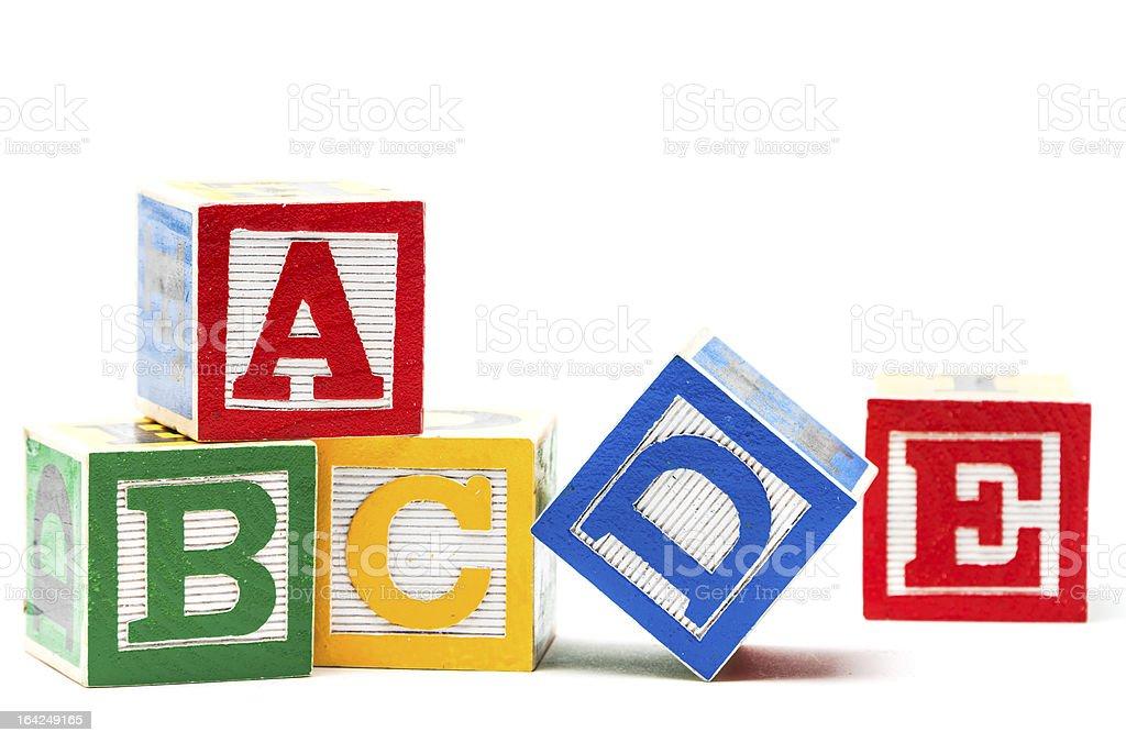 Play blocks stok fotoğrafı