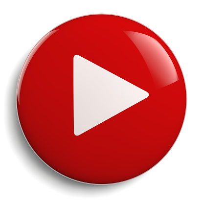 istock Play Button Circle Red Icon 952786104