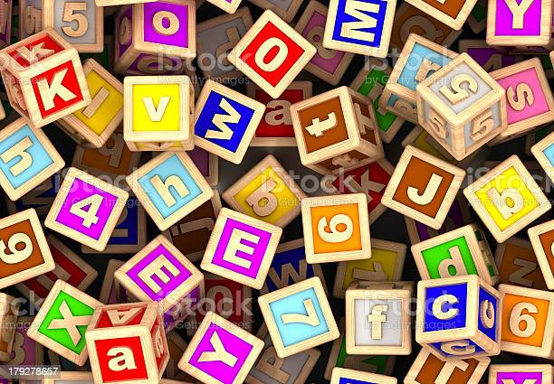 Play Cube Stock Photo - Download Image Now