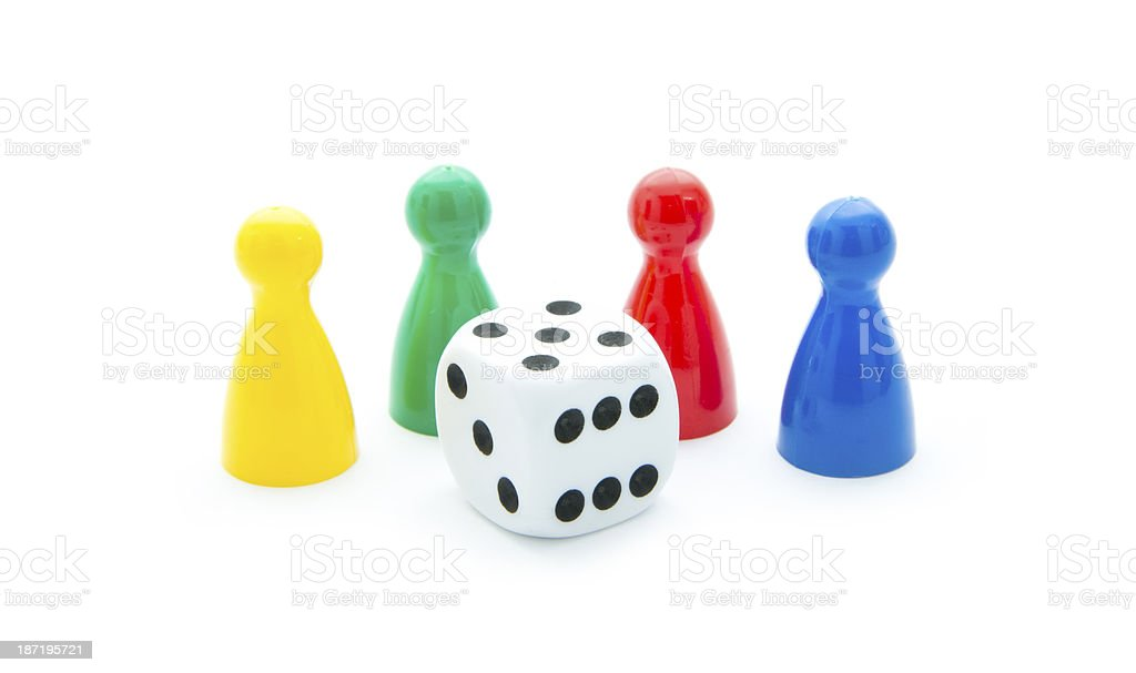 play figures royalty-free stock photo