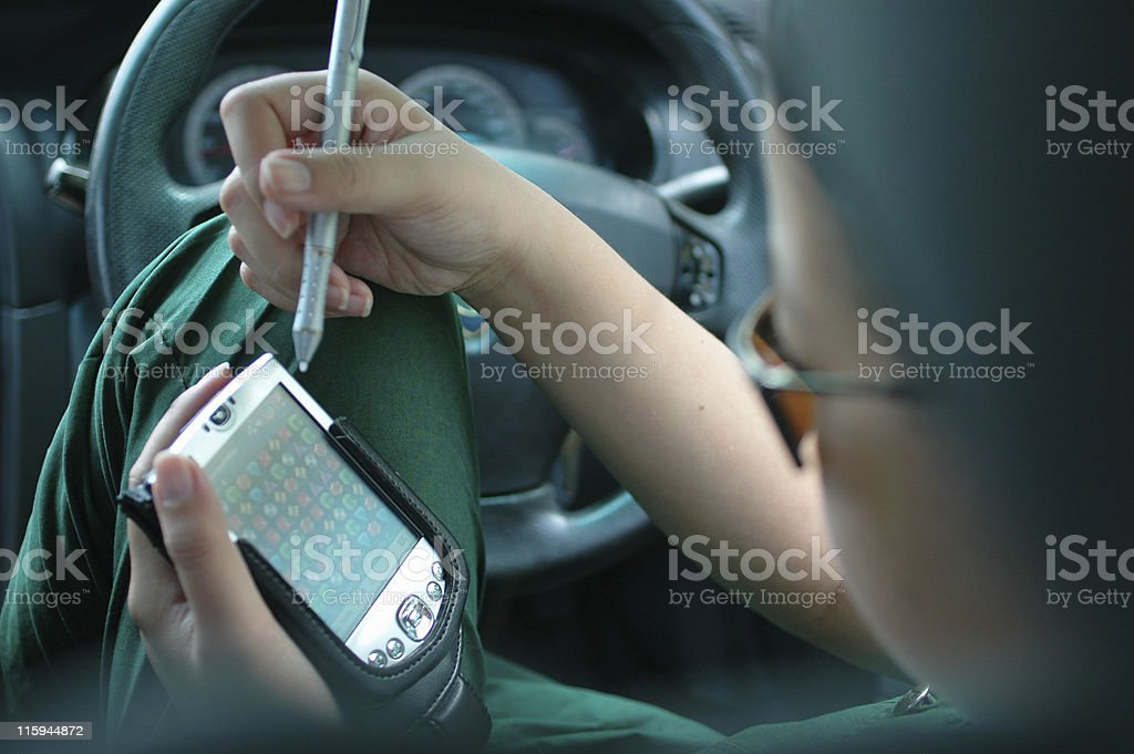 Play in Car royalty-free stock photo