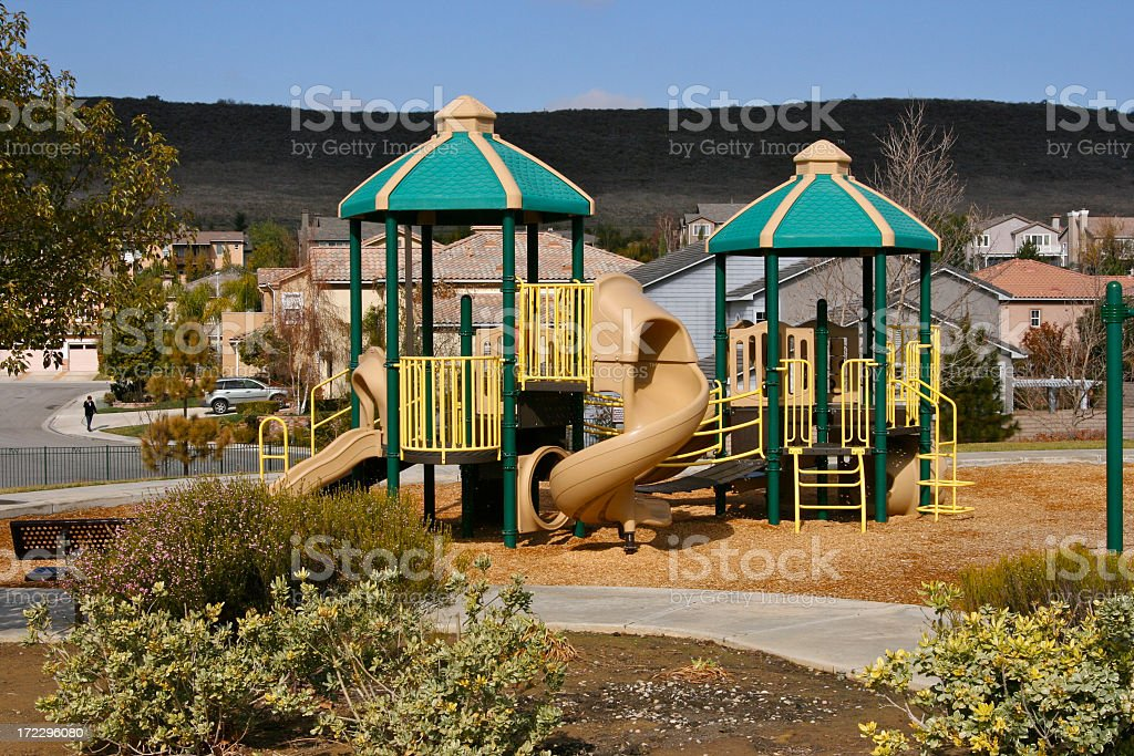 Play in New Housing royalty-free stock photo