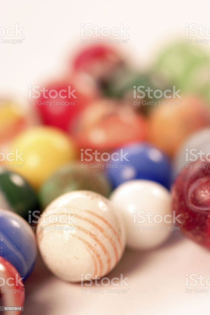 play marbles royalty-free stock photo