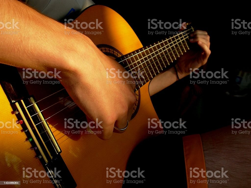 play music stock photo