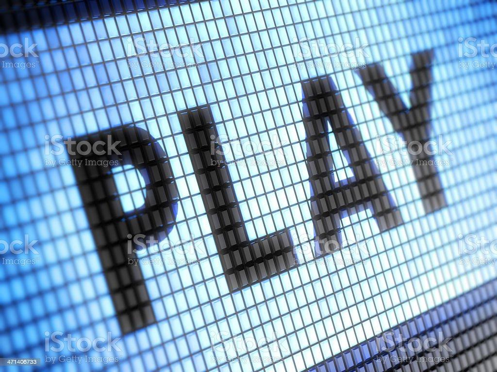 Play royalty-free stock photo