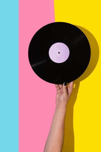 play that music - record stock pictures, royalty-free photos & images