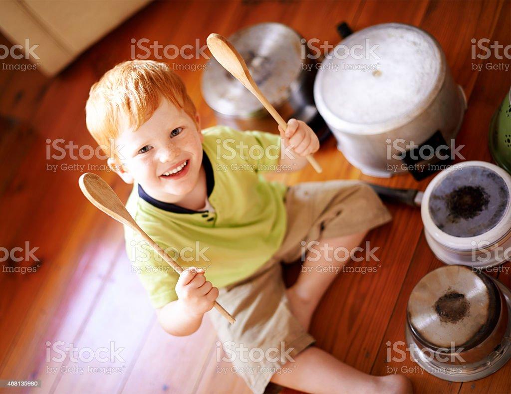 Eu jogo no ritmo do meu próprio tambor - foto de acervo