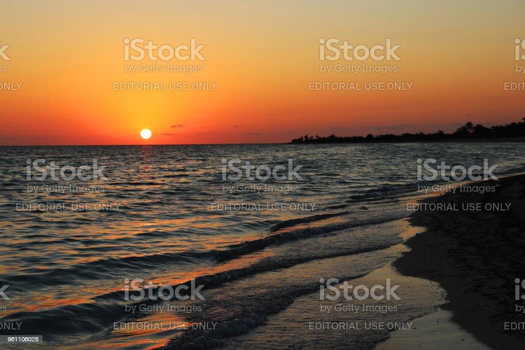 Playa Ancon stock photo