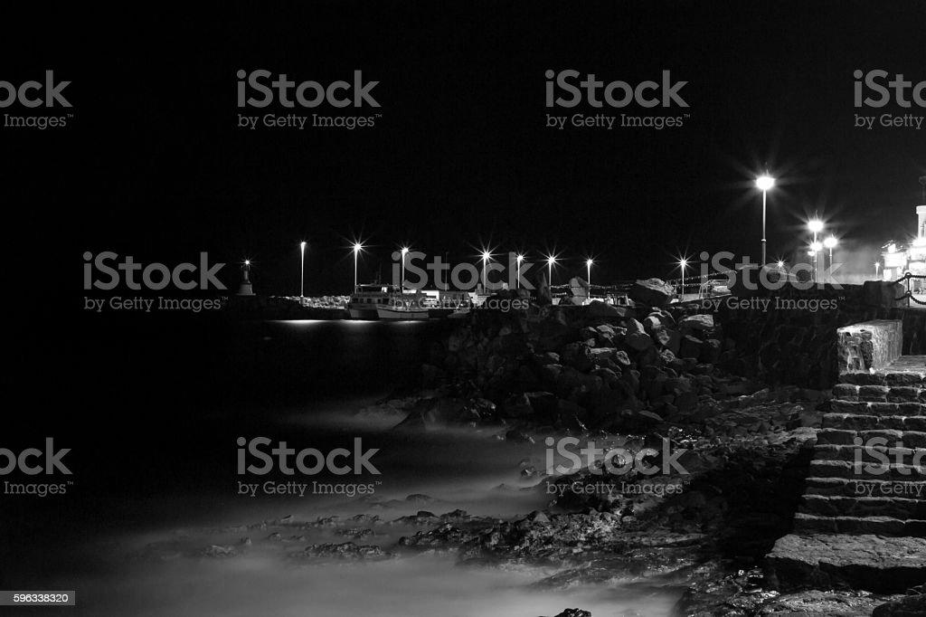 Playa Blanca royalty-free stock photo