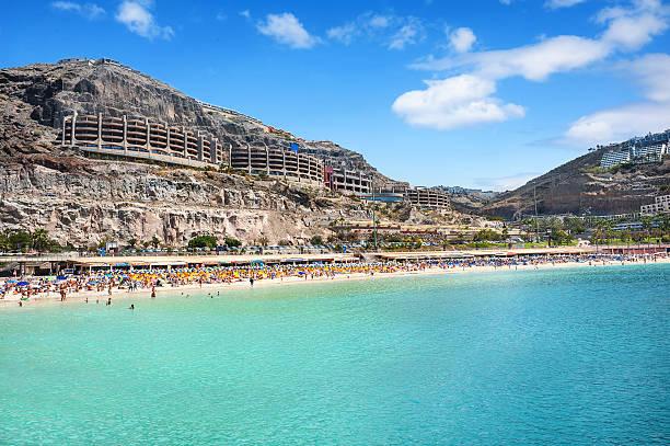 Playa de Amadores playa. Gran Canaria, Islas Canarias. España - foto de stock