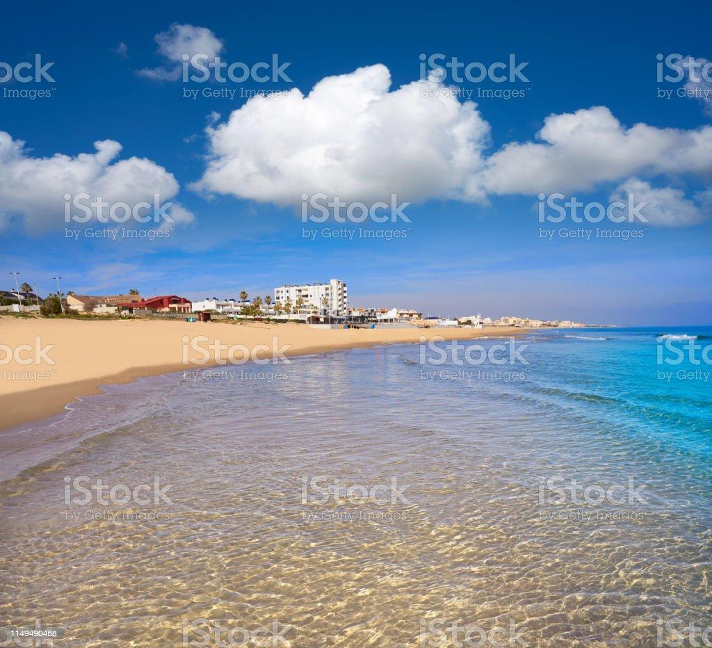 Foto De Praia De Playa De La Mata Em Torrevieja Spain E Mais Fotos De Stock De Aldeia Istock