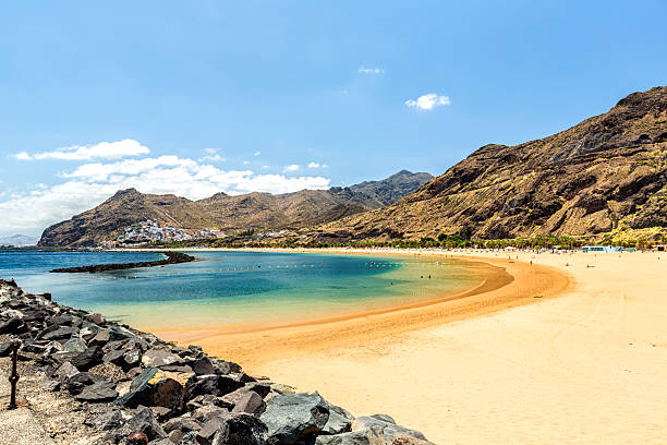 Playa de Las Teresitas auf Teneriffa – Foto