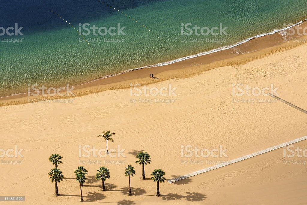Playa de las Terisitas, Tenerife stock photo