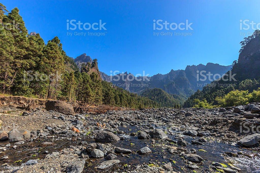 Playa de Taburiente, La Palma royalty-free stock photo
