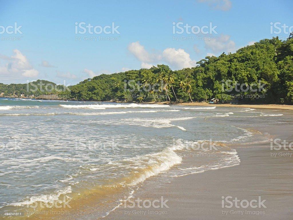 Playa El Limon, Dominican Republic stock photo