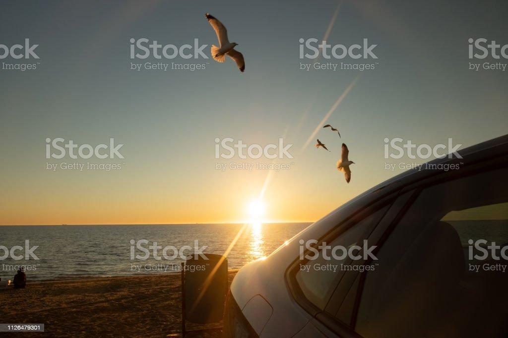 Playa El Maviri - foto de stock