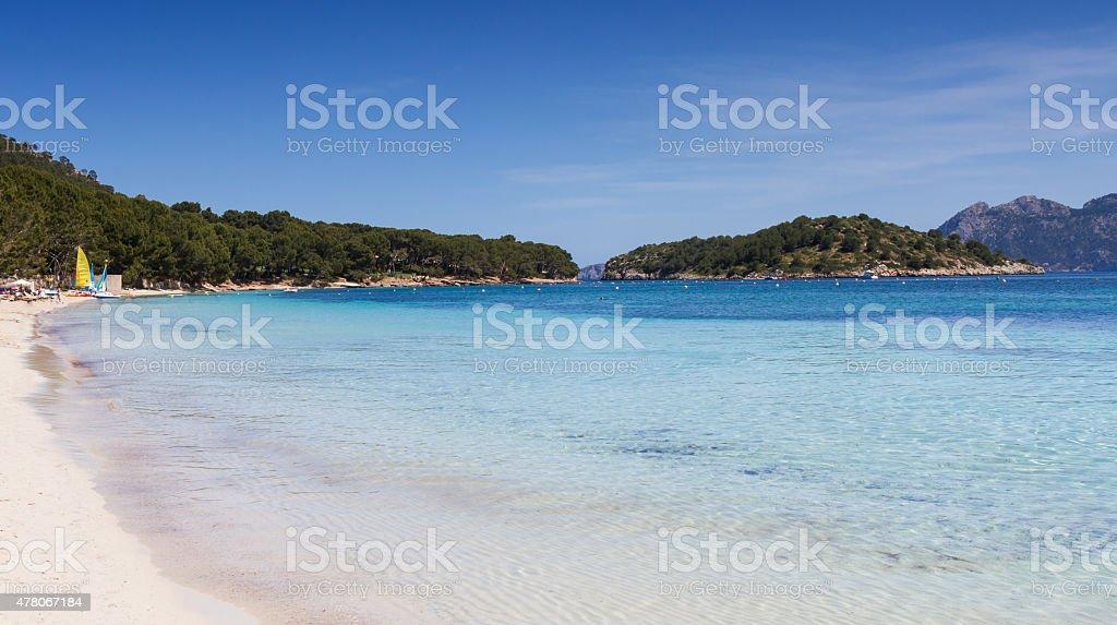 Playa Formentor stock photo