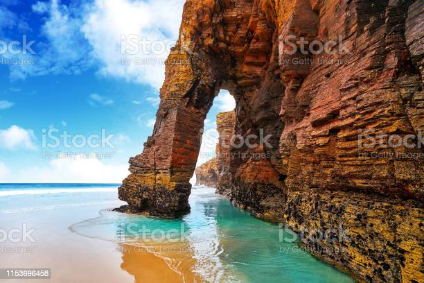 Photo of Playa Las Cathedrals Cathedral beach in Galicia Spain