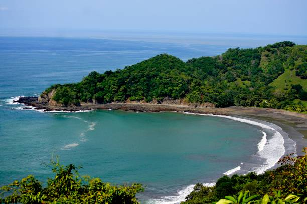 playa punta islita - headland stock pictures, royalty-free photos & images