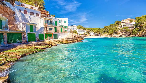 Playa Santanyi-Maiorca - foto stock