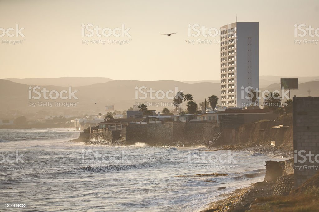 Playas de Baja California, El Sauzal Ensenada. - foto de stock