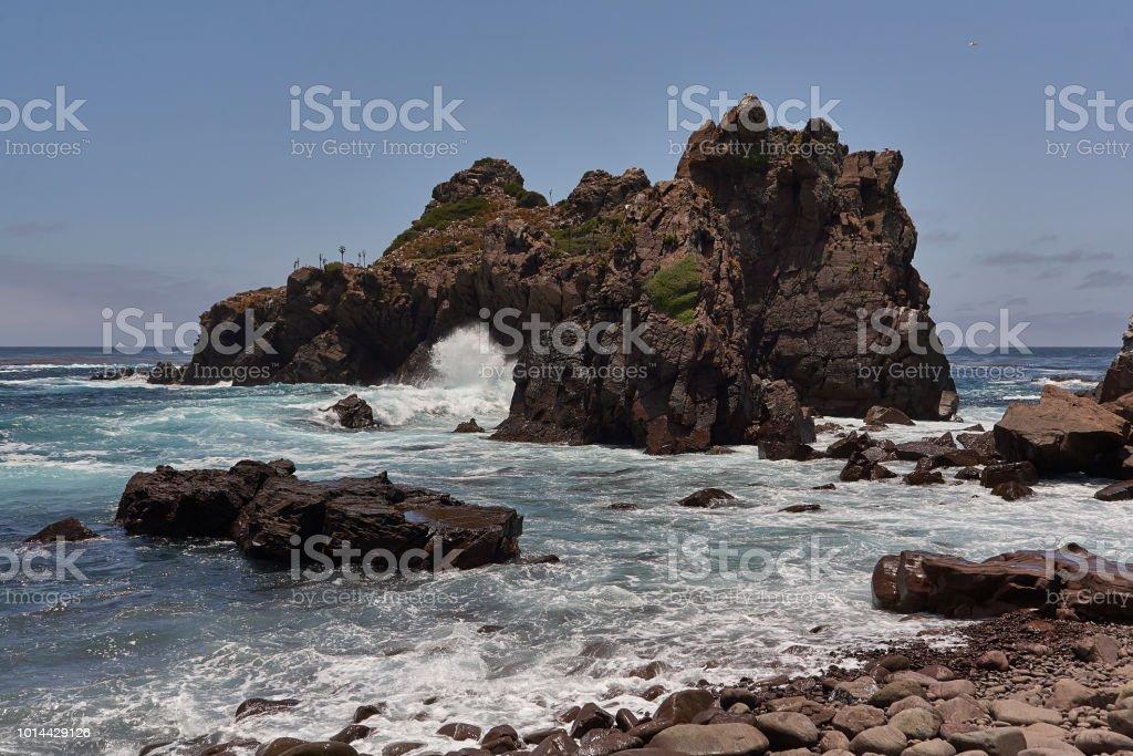 Playas de Baja California, Ensenada. - foto de stock