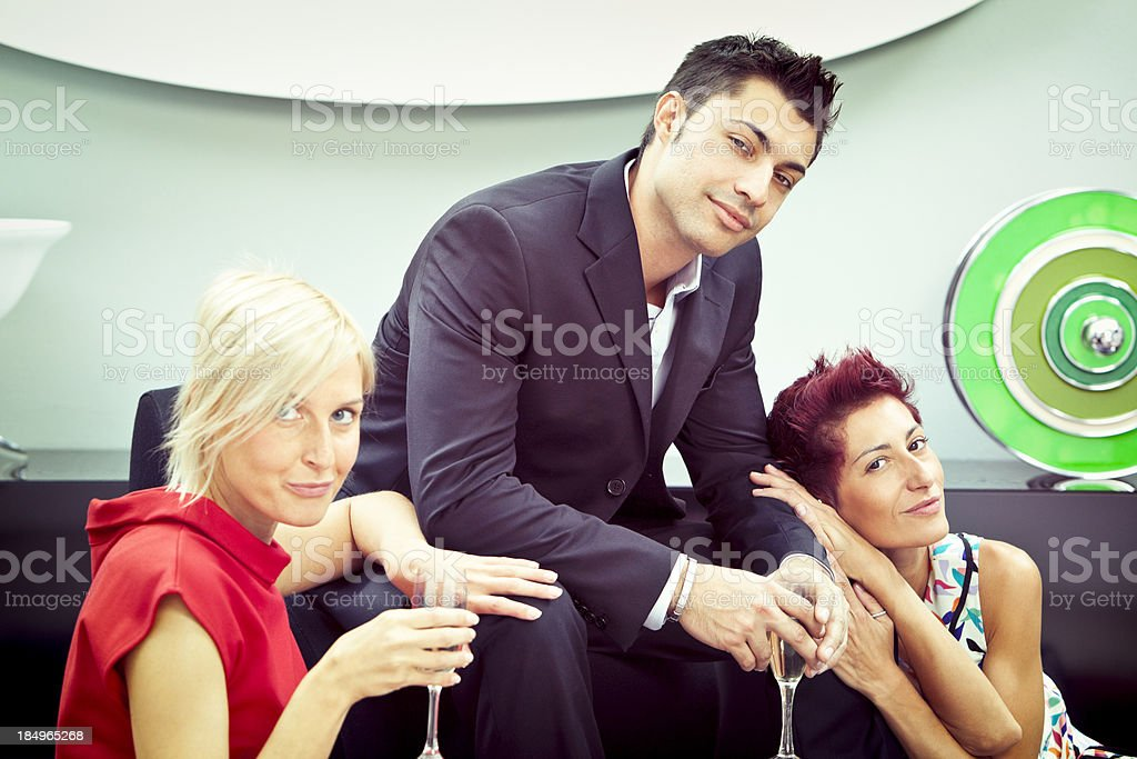 Playboy royalty-free stock photo